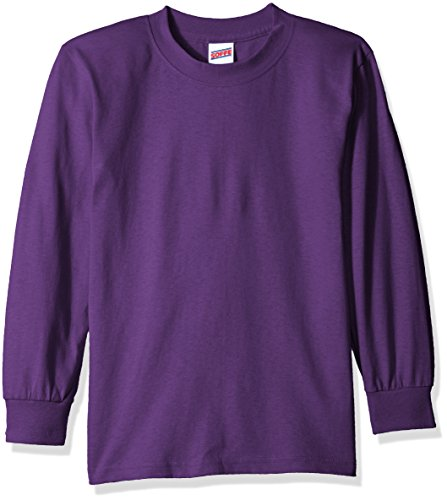 Soffe Big Boys' Long Cotton Sleeve T-Shirt – DiZiSports Store