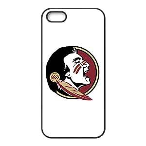 NCAA Florida State Seminoles Primary 2014 Black Phone Case for iPhone 5S