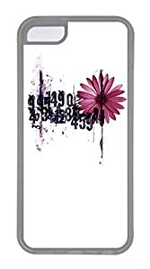 iPhone 5c case, Cute The Beauty In Numbers iPhone 5c Cover, iPhone 5c Cases, Soft Clear iPhone 5c Covers by lolosakes