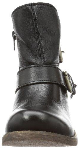 Buffalo London ES 30243 GARDA - Botas Antideslizantes de cuero mujer negro - Schwarz (PRETO 01)