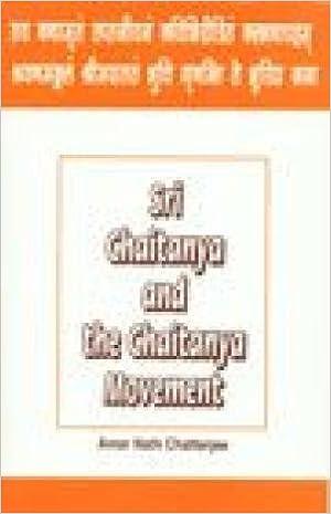 Amazon in: Buy Sri Chaitanya and the Chaitanya Movement Book