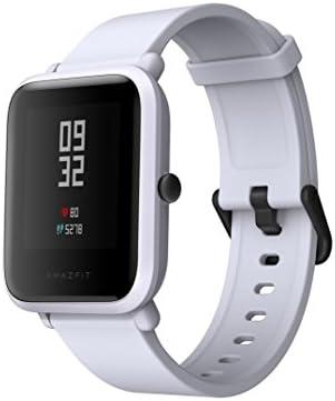 Amazfit Bip 스마트 워치 스마트 팔찌 1.28 인치 시계 심장 박동수 보수계 IP68 방수 방진 일본어 앱 Bluetooth 연결 수신 전화 알림TwitterWhatsAppLine 알림앉고 알림 (석류 ?) / Amazfit Bip Smart Bracelet 1.28 inch Watch Heart Rate Meter Pe...