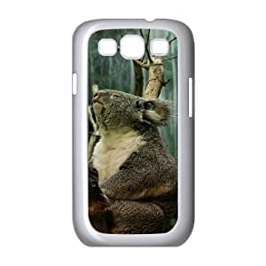 D-PAFD Phone Case Koala Hard Back Case Cover For Samsung Galaxy S3 I9300