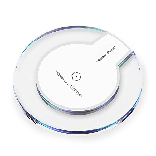 [2018 Upgraded] Wireless Charger Charging Pad for Samsung Note 8, S9/S8/S8 Plus/S7/S7 Edge/S6, Apple iPhone 8/8 Plus, iPhone X, Nexus 7/6/5/4(2013), Nokia Lumia 920, LG Optimus Vu2, and More by decool (Image #6)