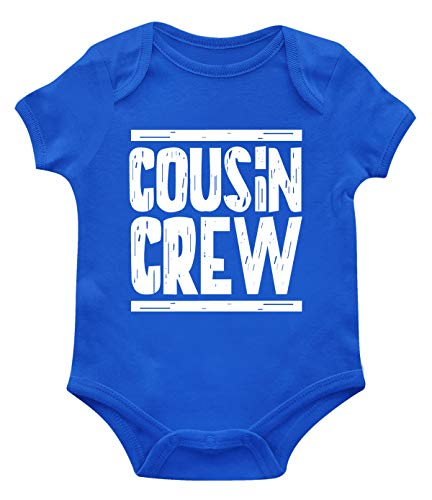 SpiritForged Apparel Cousin Crew Infant Bodysuit, Royal 24 Months