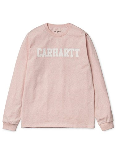 Shirt Carhartt Heather Manches À Rose Homme Longues wqxq7dBA