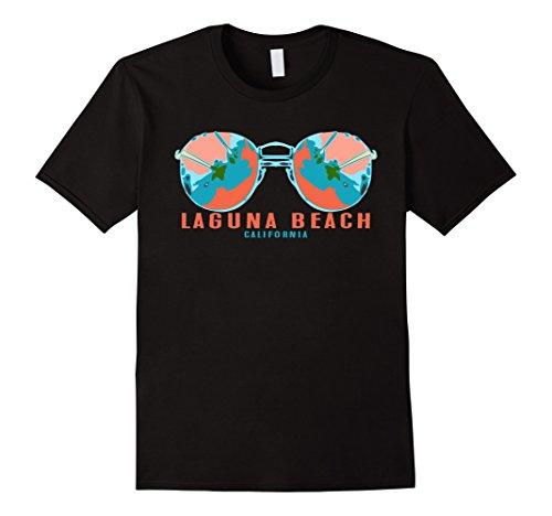 Mens California Laguna Beach Sunglasses Palms Souvenir Tee Shirt XL - Sunglasses Laguna