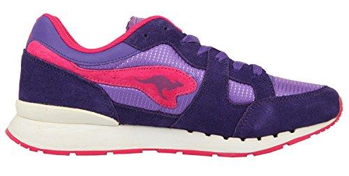 r1 Kangaroos Magenta Taglia Coil basic violet Viola Sneaker SZrZ547wq