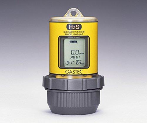 ガステック1-8292-05拡散式硫化水素測定器GHS-8AT(3000) B07BD2R13S