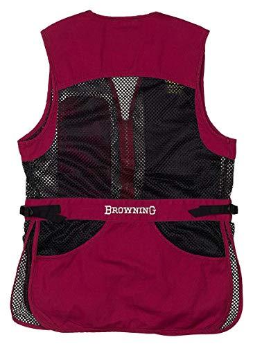 Browning 3050696604 Women's Vest,Trappercreek,Blk/Cass,XL