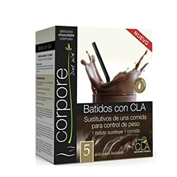 Corpore Diet Batido Sustitutivo Chocolate con CLA Clarinol - 325 gr: Amazon.es: Salud y cuidado personal