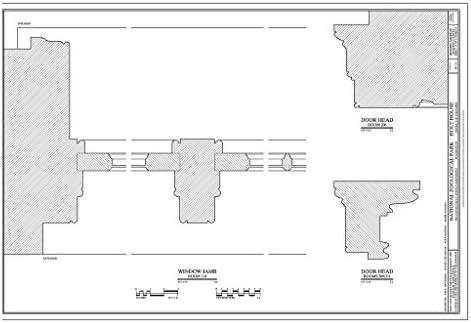 Amazon com: Blueprint Diagram Window Jambs and Door Heads - National