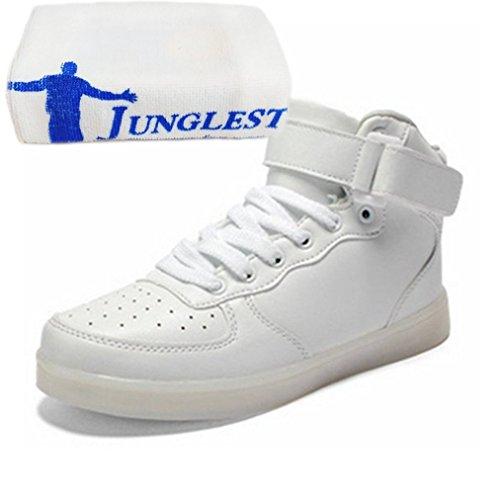 Sneakers Sneakers 7 Led Petite Noir Serviette Serviette Serviette Charge pr Chaussures Clignotante Unisexe sents Usb C29 Couleur clairage pwaFPA
