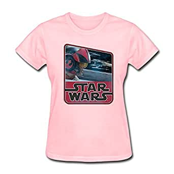 Zhuyoudao custom star wars retro poe dameron for Amazon custom t shirts