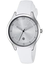 Rip Curl Womens Quartz Stainless Steel and Silicone Sport Watch, Color:White (Model: A2915G-WHI)
