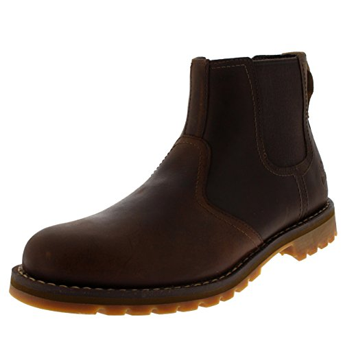 (Timberland Mens Larchmont Chelsea Gaucho Leather Boots 7.5 US)