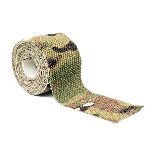 Gear Aid Camo Form Self-Cling and Reusable Camouflage Wrap, Multicam, 2