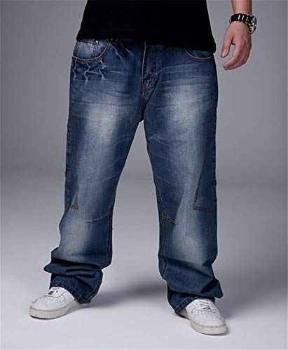 Casual Da Hippy Vita Uomo Pantaloni Moda Bassa Moderna A Jeans Colour Swtxq55If