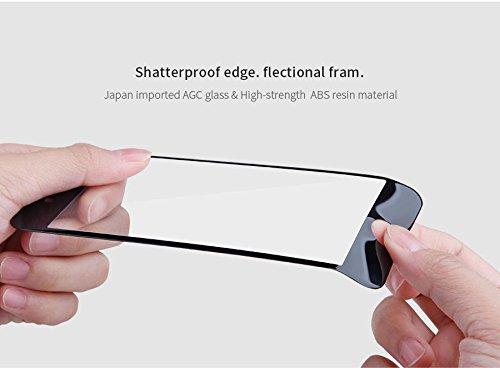 NILLKIN Coque 3D AP + Pro Edge incassable Protection d'écran en verre trempé pour Apple iPhone 7 Plus – Noir
