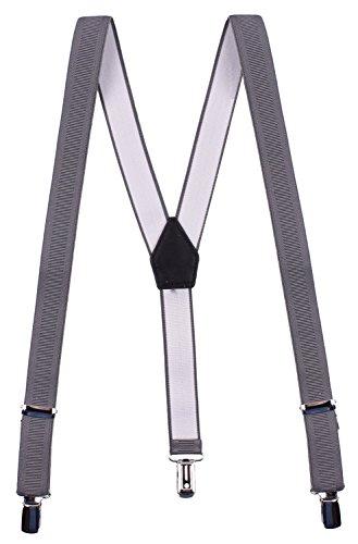 CEAJOO Big Boy's Suspenders Adjustable Ages 8-15 Grey for $<!--$16.99-->
