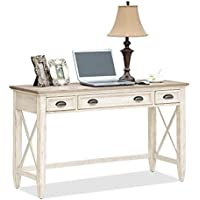 Coventry Two Tone Writing Desk w 2 Outside Drawers