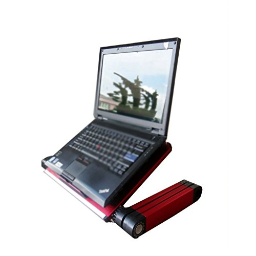 Qiaoba- Fold Notebook Lapdesk with Fan