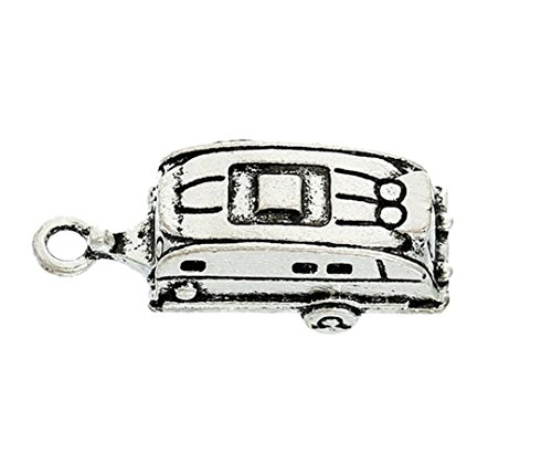 5 x Tibetan Silver Caravan Touring Travellers 3D 28mm Charms Pendants Beads (Caravan Touring)