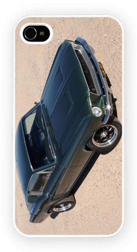 Bullit 1968 Ford Mustang, iPhone 4 4S, Etui de téléphone mobile - encre brillant impression
