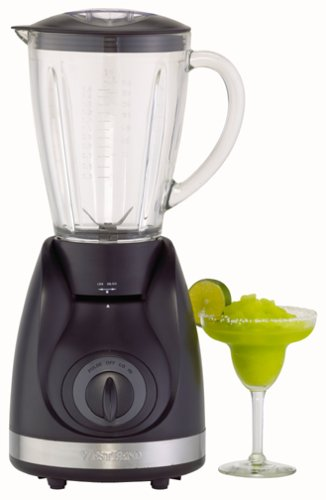 Amazon.com: West Bend 6550 50-Ounce Blender, Black and Stainless ...