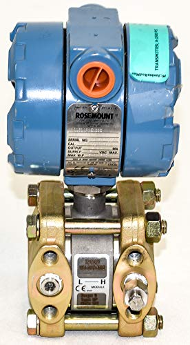 Rosemount 1151GP9E12B2 Differential Pressure Transmitter Range:9 Type: GP, 0-1000 PSI