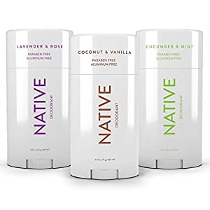 Native Deodorant - Natural Deodorant For Women and Men - 3 Pack - Contains Probiotics - Aluminum Free & Paraben Free… 10