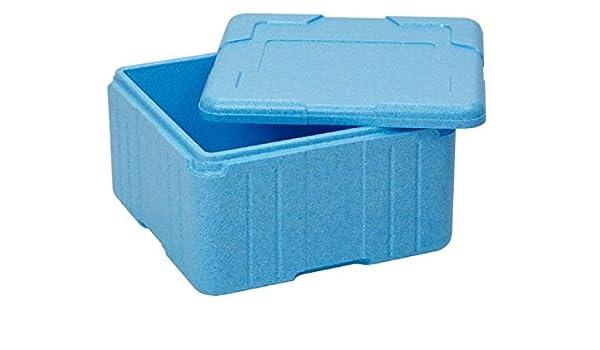 EPS - Caja térmica de poliestireno con Tapa, 21 litros: Amazon.es ...