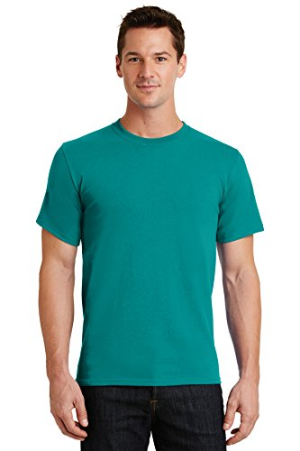 Jade Heavyweight T-shirt - Port & Company Men's Essential T Shirt XXL Jade Green