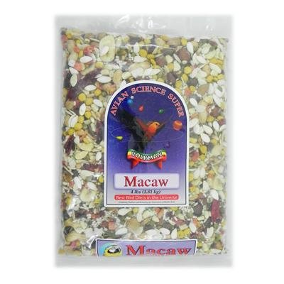 Avian Science Super Macaw Mix 4-lb 2 Pack by Volkman Seed