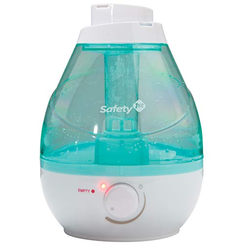 41VMGURsClL - Safety 1st 360 Degree Cool Mist Ultrasonic Humidifier, Seafoam, One Size