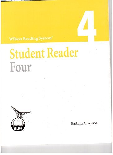 - Wilson Reading System Student Reader Four