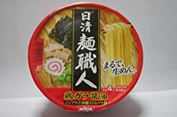 Nissin Men Syokunin (Soy Sauce Taste) (3.4ounce X 5cups) 【Japan Import】