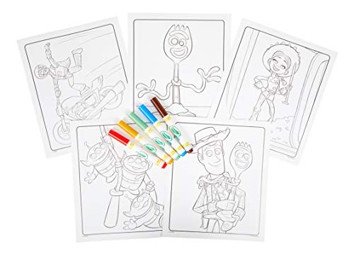 41VMH5pGmRL - Crayola Color Wonder Toy Story 4 Coloring Book Pages & Markers, Mess Free Coloring, Gift for Kids