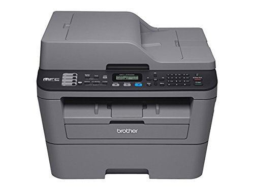 Brother International Compact Laser All in One With Wireless Networking and Duplex Printing, Grey (Certified Refurbished) by Brother