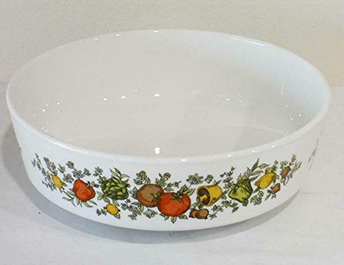 "Kitchen Glassware Spice of Life Pyroceram 5 1/2"" Soup Bowl 14-oz (1 7/8"" deep) Tkslick from Unknown"