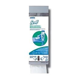 Kimberly-Clark Professional 09023 Gray Mega Cartridge Napkin System Dispenser