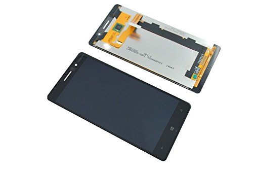 LCD Display Panel Touchscreen Digitizer Assembly Black for Nokia Lumia 830