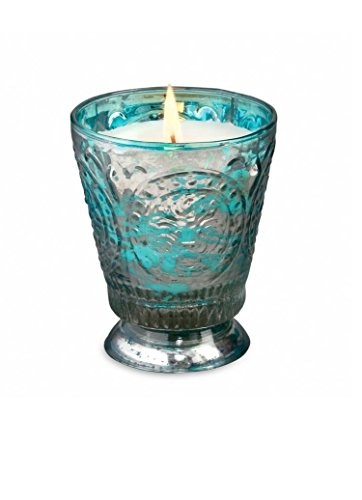 Himalayan Candles Fleur de Lys Soy Candle Tumbler, Rainbarrel, - Com India Rb