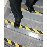 Datrex JM3360-2M, 2'' x 60' Roll Nonskid Safety Track, Yellow/Black, 1 Pack