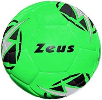 Zeus Balón Kalypso Pelota Entrenamiento fútbol Sala, Verde Fluo, 4 ...