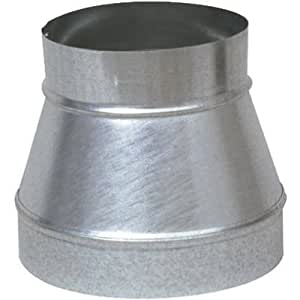 IMPERIAL MFG GROUP USA INC - 6 x 5-Inch Galvanized Piper Increaser/Reducer