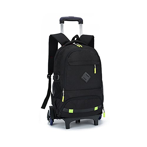 Rolling Backpack Luggage , TiTa-Dong 18 Inch Wheeled Backpack Travel Laptop Laptop Six Wheels