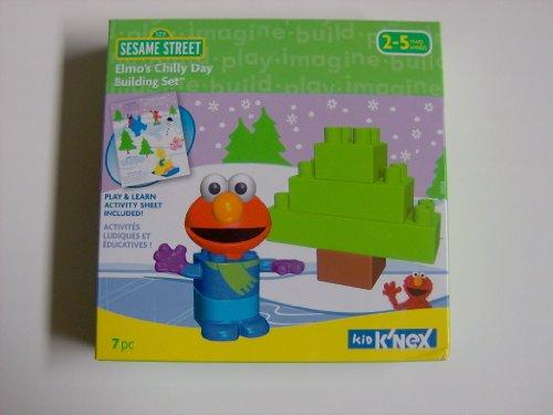 K'NEX Elmo's Chilly Day Building Set - Kid Knex Elmo
