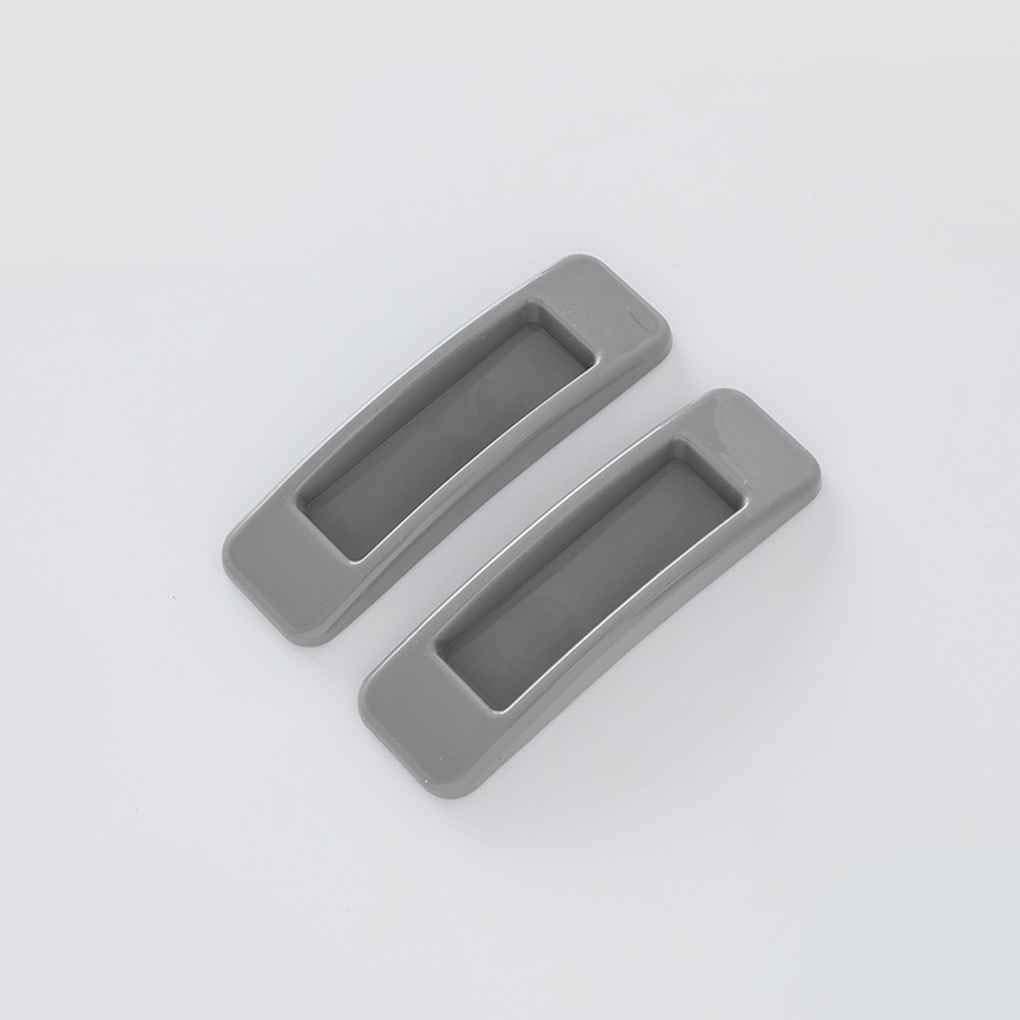 Set Auto-adh/ésif Fen/être de Traction de Porte coulissante poign/ée en Plastique Boutons Meuble tiroirs LEVEL Great 2pcs